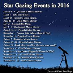 2016 star gazing