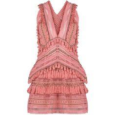 0c19a1bddec0 Shop Fox Trot V-Neck Mini Dress . This **Thurley** Fox Trot V-Neck Mini  Dress features a front V-neck, back cutout detail, embroidered details,  tassels, ...