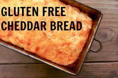 Gluten free cheddar bread recipe