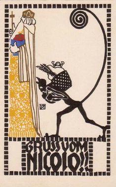 Postkarte no. 319 Susi Singer. ART & ARTISTS: Wiener Werkstätte postcards – part 1