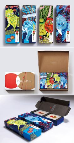 Lovely colors and illustrations Förpackad -Blogg om Förpackningsdesign, Förpackningar, Grafisk Design - CAP&Design