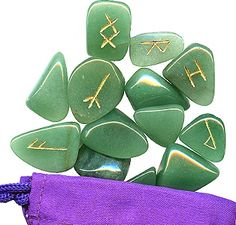 celtic rune set. Celtic Runes, Ancient Runes, Celtic Knot, Wicca, Magick, Home Altar, Elder Futhark, Altar Decorations, Fortune Teller