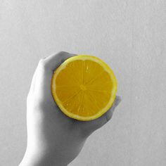 if life deals you lemons, made lemonade!  #lemons #yellow #blackandwhite