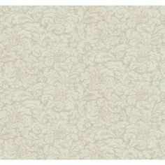 York Wallcovering Aged Elegance Lorraine Wallpaper CC960  #colorinspiration #beige #forthehome