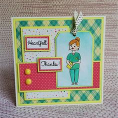 Crafter's Companion Photopolymer Stamp - Healthcare Heroes (Dispatching from May) Happy Crafters, Crafters Companion Cards, Get Well Wishes, Spectrum Noir, Clear Stamps, Mermaids, Fairies, Health Care, Thankful