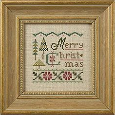 Lizzie Kate  A Little Christmas K61  Counted by DebiCreations, $11.99