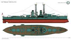 USS Delaware 1911 by Lioness-Nala on DeviantArt
