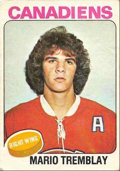 1975-76 O-Pee-Chee Mario Tremblay Uer Rookie Montreal Canadiens #223 | eBay