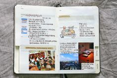 Moleskine traveling journal