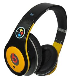 www.beatsbydrdre-drdrebeats.com  Monster Beats By Dr. Dre Studio Pittsburgh Steelers Headphones Black with Yellow.png