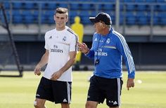 SoccerKickz: Gareth Bale trains with Real Madrid for the first time