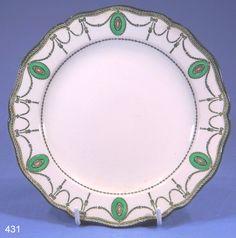 vintage royal doulton china patterns | Tea Plate from Royal Doulton, Registered Design No. 523784 (1908). Art ...