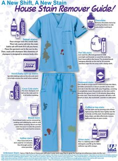 House Stain Remover Guide! [Infographic]