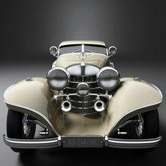 """doyoulikevintage: """"1937 Mercedes-Benz M-540K """""""