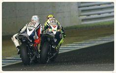 Lorenzo vs Rossi
