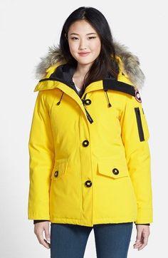 Canada Goose discounts - CANADA GOOSE 'Montebello' Parka Coat. #canadagoose #cloth #coat ...