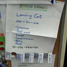 Irish Grinds Irish, Education, Irish Language, Ireland, Onderwijs, Learning
