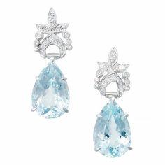 12 carats of Aquamarine in platinum  circa 1940