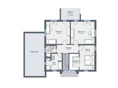 Musterhaus CityLife 500 Grundriss Obergeschoss