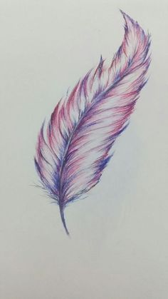 Feather Drawings Eagle Images Coloured Easy Online Peacock Step By Native Lluciano Pagliarini Feather Drawing, Feather Tattoo Design, Watercolor Feather, Feather Painting, Feather Art, Feather Sketch, Indian Feather Tattoos, Pencil Art Drawings, Cool Art Drawings
