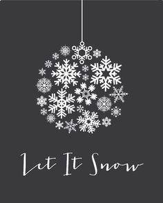Black let it snow