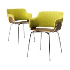 TOO by Blu Dot Hipper Dining Chair Guacamole - Set of 2 Target