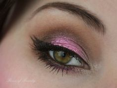 pretty pink look using fyrinnae cupcake frosting