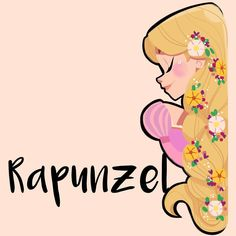 Rapunzel is the #Disney girl of the day :) happy Friday! #tangled #drawing…
