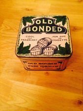 Large Early 1900s Tobacco Tin - Sadler & Moore Old Bonded