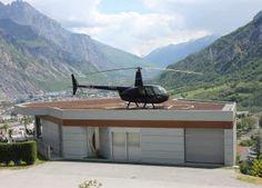 La #maison #Hélicoptère #Lyon. Ma maison est la plus originale Saison 1