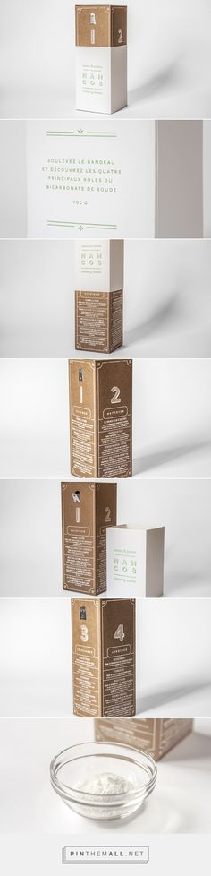 NAHCO3 - packaging design for baking soda