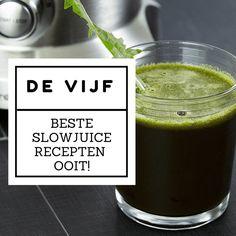 De 5 beste slowjuicer recepten ooit! Kijk snel verder in dit artikel en maak de lekkerste juice recepten!