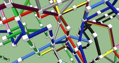 A 3-D London Tube Map