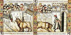 Corrida Medieval Española. Alfonso X el Sabio, Cantigas de Santa María, la cántiga número CXLIV