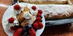 Tradičná jablková štrúdľa French Toast, Cheesecake, Breakfast, Ethnic Recipes, Desserts, Food, Basket, Morning Coffee, Tailgate Desserts