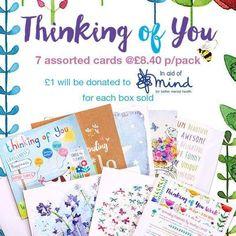 £1 from every sale donated to MIND & The Shaw Mind Foundation  #letstalk #mentalhealth #letsdostuff #MIND #Phoenix