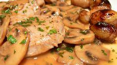 Recetas para tu Thermomix - desde Canarias: Solomillo de cerdo con champiñones y salsa de mostaza