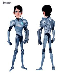 Dive into The Art of Guillermo del Toro's Netflix Animated Series Trollhunters, created by independent Spanish studio, Headless ! Based on a book by del To