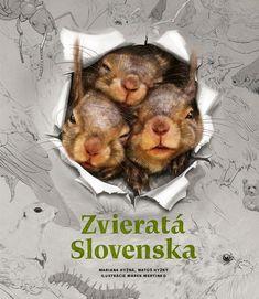 Zvieratá Slovenska   Fortuna Libri Book Lists, Illustration, Animals, Animales, Animaux, Animal, Illustrations, Animais, Reading Lists