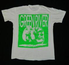 Vintage GREEN RIVER DEATH ON 10 LEGS 80S T-SHIRT MINT L