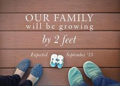 10 Pregnancy Announcement Ideas You'll Want to Steal | You're having a baby! It's time to shout it from the rooftops. These ideas will help your special announcement stand out from the others on your friend's news feeds.
