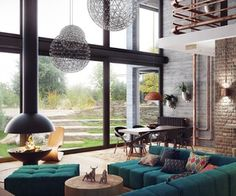Loft-Like Interior Design by Uglyanitsa Alexander
