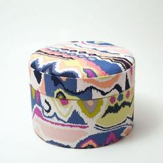 Tutorial: making a fabric covered box from repurposed cardboard.