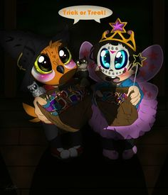 Happy Halloween to VanossGaming and H2ODelirious from ImagineSilver43 on Twitter, she made some sick fanart! =)