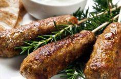 Greek lamb kofta- for Christian