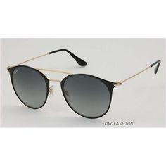 da3c30b2eb15cf Authentic Ray-Ban RB3016 Clubmaster Sunglasses W0366 Tortoise ...