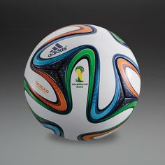 adidas Brazuca Official Match Ball - White/Blue