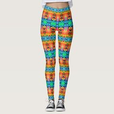 """Formalizians KCFX Leggings. 40% OFF Leggings – Use CODE: STPADDYPARTY 'til Midnite Tonite 2-25-17. These leggings will give you an entirely new exotic, exciting look. Similar to the currently trending """"Ikat"""" style, this design blends abstract art, technology and psychedelia in a completely unique fashion. Over 3000 products at my Zazzle online store. Open 24/7 World wide! http://www.zazzle.com/greg_lloyd_arts*?rf=238198296477835081"""