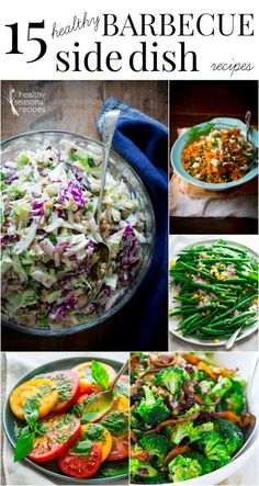 15 healthy Barbecue Side Dish Recipes on the Healthy Living Market blog by Katie Webster of Healthy Seasonal Recipes