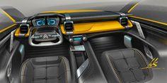 Aleksander Suvorov: Citroen concept interior